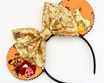 The Pride - Handmade Lion King Inspired Mouse Ears Headband