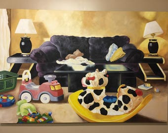 Original Oil Painting, studio clear out sale!