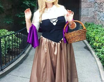 Briar Rose Disney Princess costume cosplay (adult)-free shipping