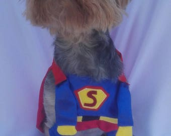 Superman dog costume, dog superman costume, superman costume for dogs, superman pet costume, superman costume for pets