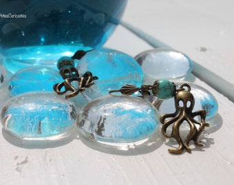 Earrings: Octopus