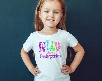 Back to School - Kindergarten Shirt - Girls Shirt - Back to School Shirt - Ready to Learn - First Day of School  - School Shirt