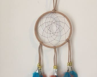 Dreamcatcher-Turquoise/Orange