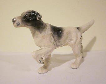 Vintage Hubley English Setter Cast Iron Paperweight