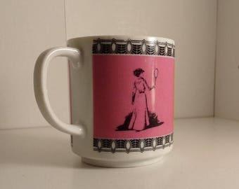 Vintage Tennis Coffee Mug