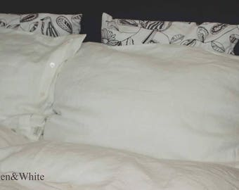 Super King Size Pure Linen Bedding