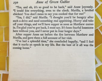 Coaster of Anne of Green Gables pg 230