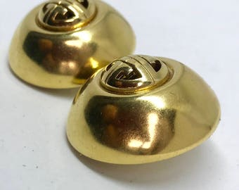 Givenchy 1980s vintage clip on earrings