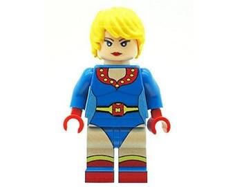 Custom Designed Minifigure - Superhero Miracle Woman