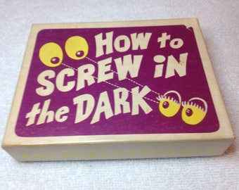 1974 Franco American Novelty how to screw in the dark  no 9528
