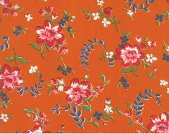 Moda - Spring a Ling by American Jane - Orange (21711 16) - Floral