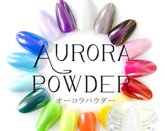 SHINY AURORA POWDER by laovenail
