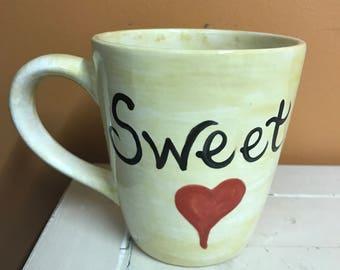 Ceramic Sweet Heart Mug