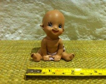 Vintage Ceramic Figure Baby Dollhouse, Accessoires