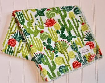 Sweet Succulent Infant Swaddling Blanket