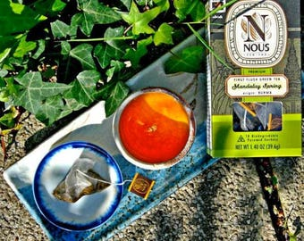 Organic green tea Mandalay Spring NOUS TEA