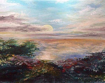 Painting -An Australian Sunrise