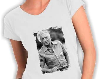 Women's V neck t shirt gianni agnelli