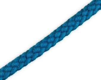 1 m cotton cord Blue 8 mm