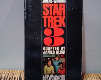 Star Trek 3 adapted by James blish published 1969 paper back