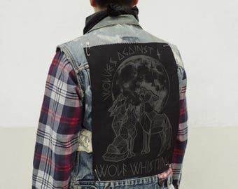 Back Patch - Wolves Against