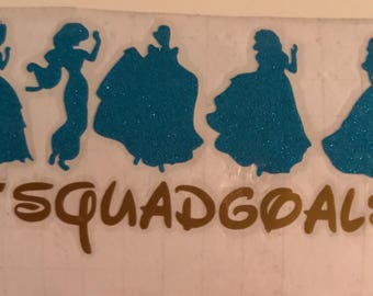 Custom squad goals disney princess