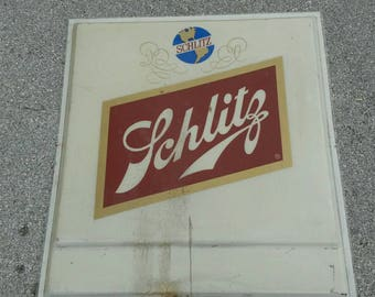 Vintage Shlitz Sign