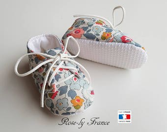 Liberty Betsy porcelain baby shoes and non slip soles