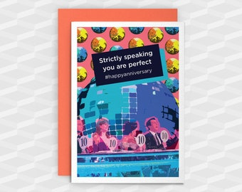 Anniversary Card|Anniversary|Strictly speaking you are perfect #happyanniversary|Anniversary Cards|Strictly|Wife|Girlfriend|1st Anniversary