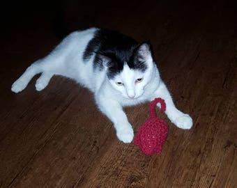 Cat toy catnip mouse