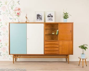 60s Highboard sideboard, 50s, vintage (705003)