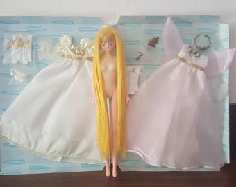 Make your own Neo Queen Serenity & Princess Serenity with these original rare Sailor Moon Doll Dess + Serenity Doll !