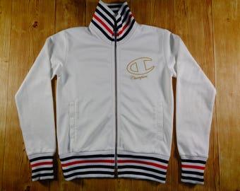 20% OFF Vintage U.S.A CHAMPION Hip Hop Light Cream Sweatshirt Sweater Women Size