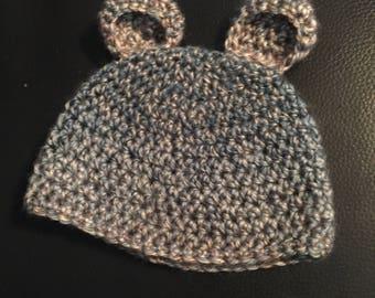 Infant bear hat