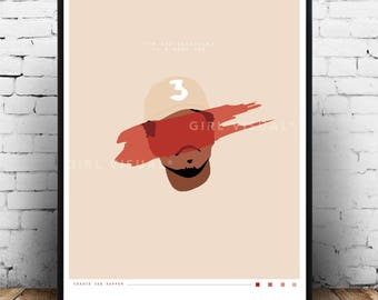 Chance The Rapper Coloring Book Print Poster Merch