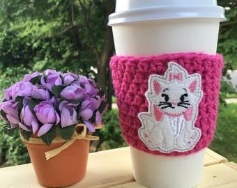Marie Inspired Coffee Cozy