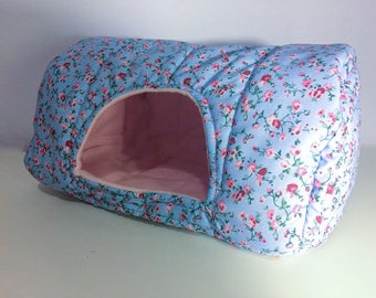 Guinea pig bed cage accessory house cosy fleece small pet sleep spot