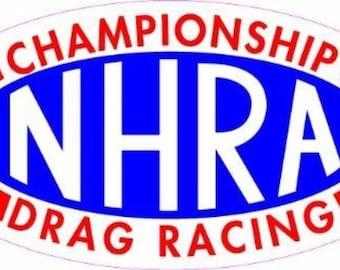 NHRA Championship Drag Racing  Sticker/Decal