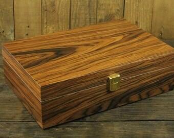 8 Slot Brazilian Rosewood Watch Box Wood, Luxury Jewelry Wood, Display Case  Organizer,