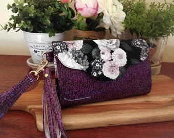 Purple Luxe Ladies Wallet