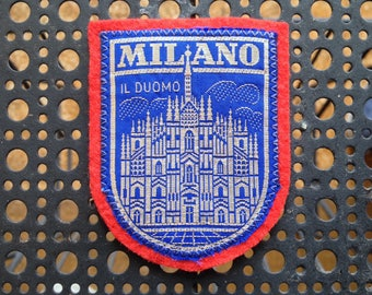 Vintage Ski Patch Milano
