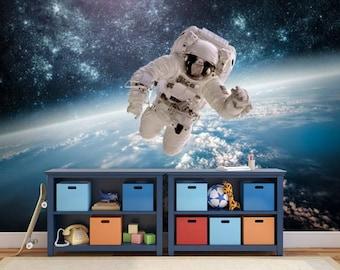 Ceiling Astronaut Wallpaper, Astronaut Wall Mural, Space Shuttle Wallpaper, Space  Shuttle Mural, Part 97