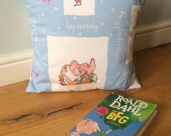 "Roald Dahl ""The BFG"" cushion"