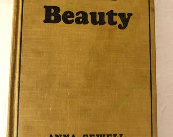 Black Beauty by Anna Sewell - 1930's