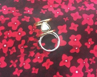 Gemstone Fashion Jewelry Men Women Ring