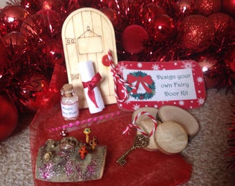 Christmas fairy door kit - perfect for stocking fillers!