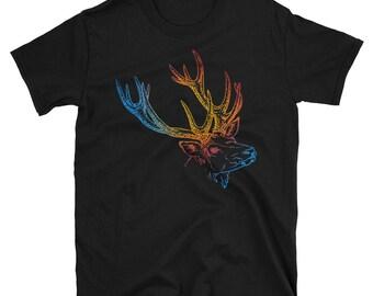 Deer Short-Sleeve Unisex T-Shirt
