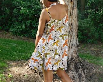 Titi Flare Sleeveless Midi Dress
