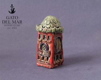One Houses - miniature pottery houses, Ceramic houses, Small clay houses, Tiny house