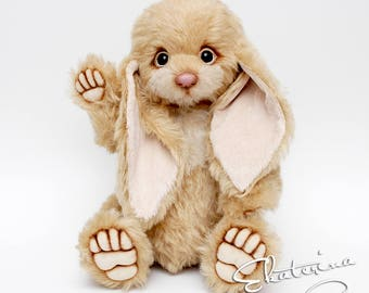 Big Teddy Bunny handmade toy gift